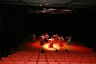 Generalprøve med Laagens Juveler som danset en tyrkisk sigøynerdanskoreografi av Shireen.
