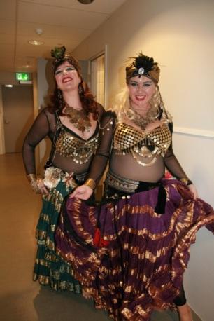 Deilige damer fra Trondheim.