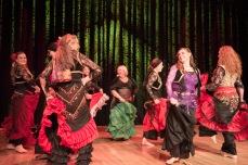 Gloria Riveros' dansegruppe